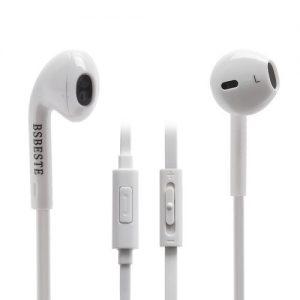 Άσπρα ακουστικά